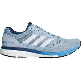 adidas Adizero Boston 7 Shoes Men ash grey/ftwr white/shock cyan